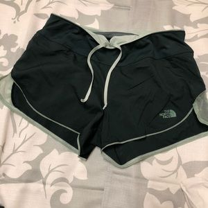 The North Face running shorts sz S